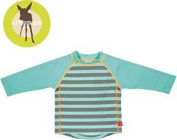 Lassig Lassig, Koszulka do pływania z długim rękawem Striped aqua, UV 50+