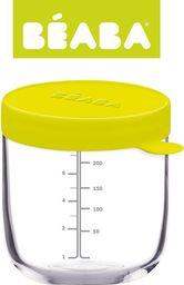 Beaba Pojemnik słoiczek szklany z hermetycznym zamknięciem 250 ml neon (3384349125516)