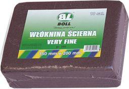 BOLL WŁÓKNINA ŚCIERNA 150X200 MM VERY FINE / BORDO GRANULACJA 360 / BOLL