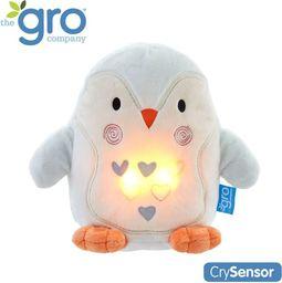 Gro Company Pingwin Percy Szumiąca Przytulanka z czujnikiem płaczu i lampką nocną