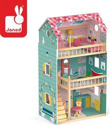 Janod Domek dla lalek XL z 12 akcesoriami Happy Day (J06580)