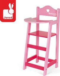 Janod Krzesełko do karmienia dla lalek Mademoiselle, Janod