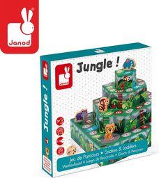 Janod Gra planszowa Wyścig: Dżungla