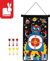 Janod Magnetyczna gra w rzutki Roboty
