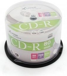 Xlayer CD-R 700MB 52x 50szt. (206317)