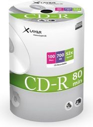 Xlayer CD-R 700MB 52x 100szt. (105074)