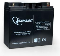 Gembird ENERGENIE AKUMULATOR ŻELOWY DO UPS 12V/17AH UNIWERSALNY BAT-12V17AH/4