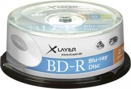 Xlayer BD-R 25GB 6x 25szt. (105790)