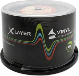 Xlayer CD-R 700MB 48x 50szt. (105156)