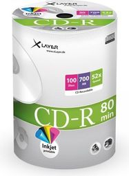 Xlayer CD-R 700MB 52x 100szt. (105075)