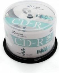 Xlayer CD-R 700MB, 52x, 50szt, Cake (206197)