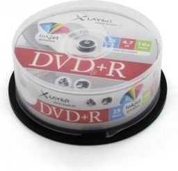 Xlayer DVD+R 4.7GB, 16x, 25szt, Cake (207666)