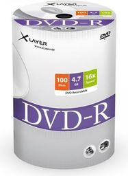 Xlayer DVD-R 4.7GB 16x 100szt. (105078)
