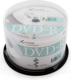 Xlayer DVD-R 4.7GB, 16x, 50szt, Cake (206198)