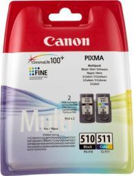 Canon tusz PG-510/CL-511 2970B010 (cyan, magenta, yellow, black)