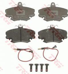 TRW Klocki Hamulcowe Renault Clio -98-/Megane 96-/Logan/Sandero Przód (GDB400)