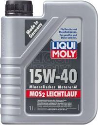 Olej silnikowy LIQUI MOLY MOS2-Leichtlauf mineralny 15W-40 1L