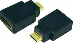 Adapter AV LogiLink Adapter HDMI (żeński) <=> mini HDMI (męski) AH0009