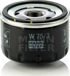 Mann Filter Filtr Oleju Renault Clio/Megane/Laguna (W75/3)