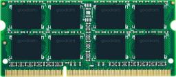 Pamięć do laptopa GoodRam SODIMM, DDR3, 8 GB, 1600 MHz, CL11 (GR1600S364L11/8G)