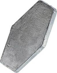 Jaxon Ciężarek płaski 50g 2szt