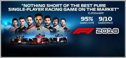 F1 2018 Steam CD Key