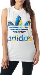 Adidas Koszulka adidas Originals Top Trefoil DH3068 DH3068 biały 32