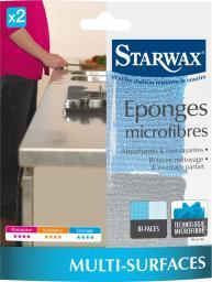 Starwax Gąbki Z Mikrofibry, 2 SZT.