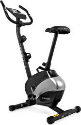 Sapphire Rower magnetyczny Falcon czarno-srebrny (SG-911B)