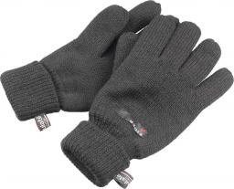 Eiger Rękawice Knitted Gloves szare  XL