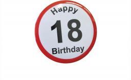 Gadżet Gadget Master Badge (przypinka) urodzinowy - 18