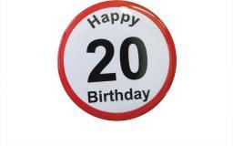 Gadżet Gadget Master Badge (przypinka) urodzinowy - 20