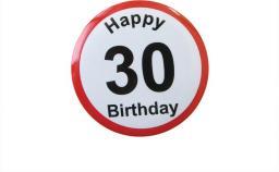 Gadżet Gadget Master Badge (przypinka) urodzinowy - 30