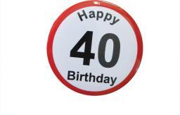 Gadżet Gadget Master Badge (przypinka) urodzinowy - 40