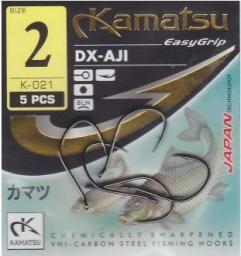 Kamatsu Haczyki Aji złote r. 2 10szt