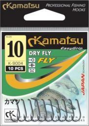 Kamatsu Haczyki Dry Fly brązowe r. 18 10szt