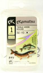 Kamatsu Kotwica Treble Hook Round r. 12