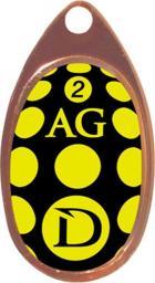 Dragon Fishing Błystka obrotowa AG-Clas 1 czarno-żółta