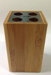 Kemis Uchwyt na szczoteczki drewno (09,113320)