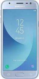 Smartfon Samsung Galaxy J3 2017 16 GB Dual SIM Niebieski  (SM-J330FZSDDBT)