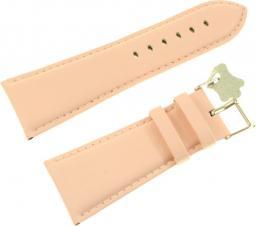 Diloy Pasek do zegarka skórzany łososiowy 30 mm (302EA.30.13)