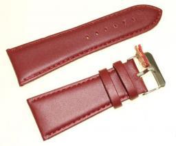 Diloy Pasek do zegarka skórzany brązowy 30 mm (302EA.30.4)