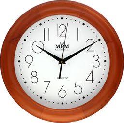 MPM Drewniany zegar ścienny MPM E01.2473.51.W