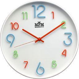 MPM Kolorowy zegar ścienny MPM E01.3459.00 fi 29,5 cm