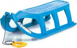 Victoria Sport Sanki plastikowe niebieskie