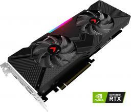 Karta graficzna PNY Technologies GeForce RTX 2080 8GB XLR8 Gaming Dual Fan (VCG20808DFPPB-O)