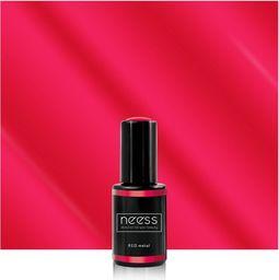 NEESS NEESS Lakier hybrydowy 7427 RED Metal  4ml