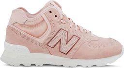 New Balance Buty damskie zimowe WH574BA różowe r. 36.5