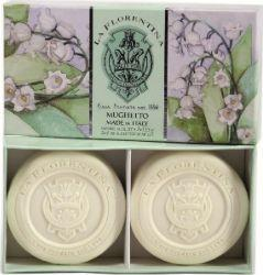 La Florentina Bath Soap mydło do kąpieli Lily Of The Valley 2x115g