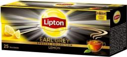 Lipton Earl Grey Lemon herbata czarna Cytryna 25